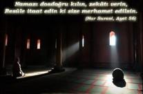Resûl-i Ekrem'in yaptığı ve tavsiye buyurduğu dua her namazdan sonra: